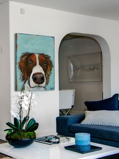 """What "" Painting Print on Canvas by Tori Campisi - Contemporary - Prints And Posters - by Marmont Hill"