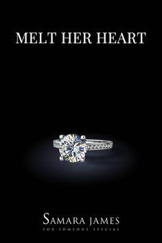 e3476d2b4 Our gorgeous 'Xanthe' diamond engagement ring showcases a beautiful round  brilliant diamond centre stone