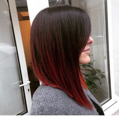 Don't want to go red again but love the shape and the look of the ombré