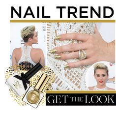 """""""Get the Look: Nail Trends Edition"""" by vicuka on Polyvore"""