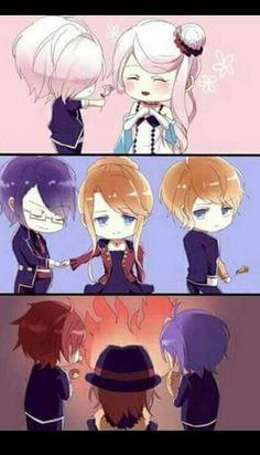 J'aime bien cette image, surtout la trois..... Peut-être parce que je hais Cordelia !