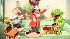 Disney Jr, Disney Junior, Mr Smee, Rainbow Toys, Frozen Elsa And Anna, Play Sets, Captain Hook, Rapunzel, Pirates
