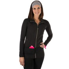 Fit Belt Black – Great for running, walking, hiking or any other hands-free activity!
