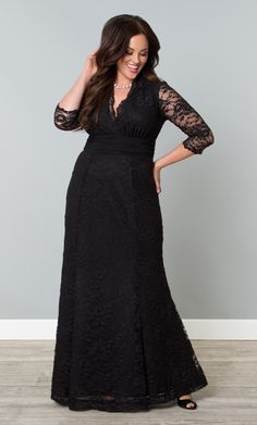 Screen Siren Lace Gown is everything you need for a fancy soiree.
