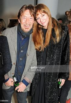 Chris Rea and daughter Josephine attend a private view of Bill Wyman's new exhibit 'Reworked' at Rook & Raven Gallery on February 2013 in London, England. Chris Rea, Bill Wyman, Slide Guitar, Nothing To Fear, Middlesbrough, Famous Singers, Marie, Daughter, London