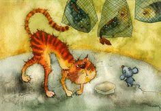 kirdiy: Рыбный ряд | Illustration by Viktoria Kirdiy