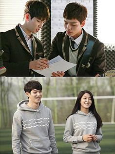Bashful high school crushes in Orange Marmalade » Dramabeans » Orange Marmalade kicks off on May 15 with a double-header, and airs once weekly thereafter.