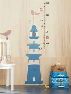 pegatina vinilo medidor Habitación niños - Kid's room