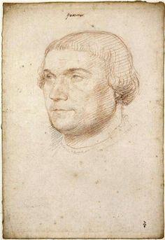 Ritratto di Erasmo da Rotterdam.  1510