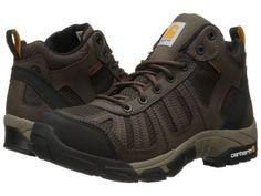 Carhartt - Lightweight Waterproof Work Hiker (Brown/Brown) Men's Hiking Boots