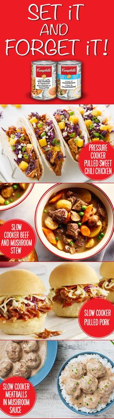 Here are our slow cooker recipe favourites. Enjoy our collection of wonderful and flavourful slow cooker recipes. Crock Pot Slow Cooker, Crock Pot Cooking, Pressure Cooker Recipes, Crock Pots, Crockpot Dishes, Crockpot Recipes, Cooking Recipes, Meat Recipes, Free Recipes