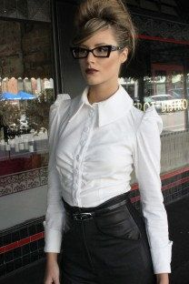 The Business Blouse by ChiTheLabel on Etsy, $230.00