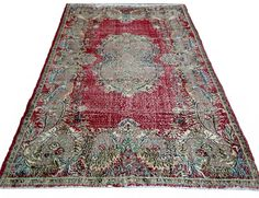 Hey, I found this really awesome Etsy listing at https://www.etsy.com/listing/208018470/free-shipping-art-deco-turkish-rug-302-x