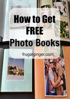 How to Get Free Photo Books See all the ways you can get photo books for FREE! Ways To Save Money, Money Saving Tips, Saving Ideas, Free Photo Book, Shutterfly Photo Book, Photo Storage, Photo Tips, Photo Ideas, Photo Projects
