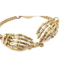 Bone Hands Bracelet