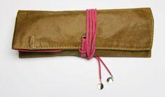 https://flic.kr/s/aHsjZ8C4Cp | Review: PlePle Choco Pencil Case - Hot Pink @JetPens