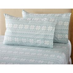 Bed Bath And Beyond Flannel Sheets Mesmerizing Great Bay Home Stratton Collection Nordic Flannel Twin Sheet Set In Decorating Inspiration