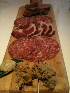 Delicious Charcuterie board at Grand Cafe