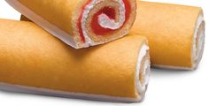Little Debbie: Strawberry Shortcake Rolls.  Love these!! I could live on them- their heaven