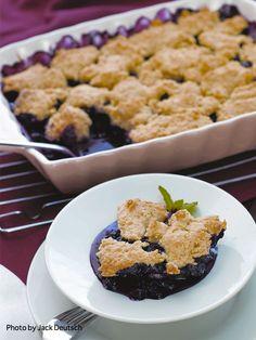 Blueberry Cobbler from the cookbook The Joy of Vegan Baking