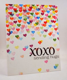 DIY Valentines Day Cards - XOXO Valentine's Card - Easy Handmade Cards for Him and Her, Kids, Freinds and Teens - Funny, Romantic, Printable Ideas for Making A Unique Homemade Valentine Card - Step by Step Tutorials and Instructions for Making Cute Valentine's Day Gifts http://diyjoy.com/diy-valentines-day-cards