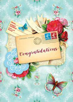 Cartolina - Cartolina card - Congratulations CC251
