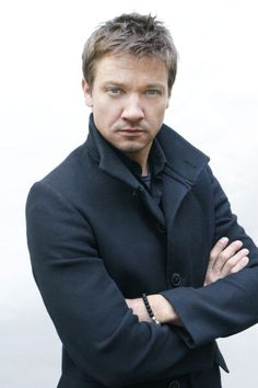 Jeremy Renner. Uh oh. Am I in trouble? Will there be a spanking involved???