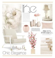 """""""chic interior"""" by chimechn ❤ liked on Polyvore featuring interior, interiors, interior design, home, home decor, interior decorating, New Look, Pier 1 Imports and Jiti"""