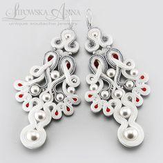 561  Anna Lipowska LiAnna Biżuteria sutasz   soutache  www.lianna.blox.pl wedding bridal ślub kolczyki ślubne