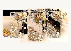 Phone 4 Case, iPhone 4s Case, iPhone 5 Case, iPhone 5 bling case, Bling iphone 4 case, Cute iphone 4 case by iPhone5CaseBling, $17.98