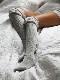 Free People Thigh High Crochet Legwarmer at Free People Clothing Boutique