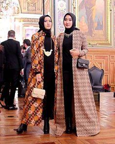 Ideas For Dress Boho Formal Womens Fashion Batik Blazer, Blouse Batik, Batik Dress, Kaftan Batik, Batik Fashion, Abaya Fashion, Blazer Fashion, Dress Fashion, Islamic Fashion