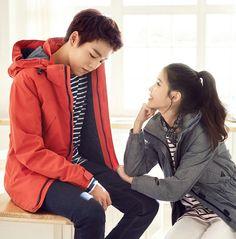 IU and Lee Hyun Woo - Unionbay S/S 2015