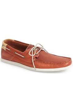 Kenneth Cole New York 'New Era' Boat Shoe (Men) available at #Nordstrom