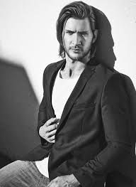 Greyston Holt was born on September 1985 in Calgary, Alberta, Canada. He is an actor, known for Bitten Alcatraz and Once Upon a Time Bitten Tv Show, Bearded Tattooed Men, Hottest Male Celebrities, Black And White Pictures, Male Face, Celebrity Hairstyles, Haircuts For Men, Man Crush, Gorgeous Men