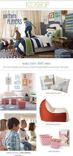 Kids Bedding & Furniture, Designer Kid Decor   Serena & Lily