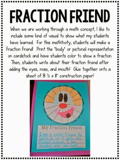 Step into 2nd Grade with Mrs. Lemons: A New Fraction Unit and a Giveaway!