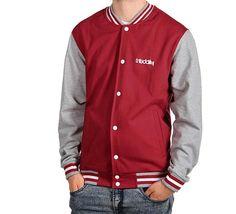 iriedaily - Irie College 3 Jacket dark red