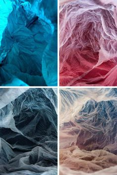 Plastic Bag Landscapes by Vilde J. Rolfsen