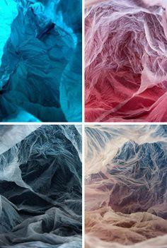 Plastic Bag Landscapes by Vilde J. Rolfsen