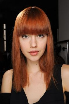 Red hair. Cheveux roux