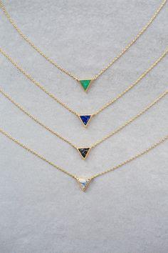 Lovoda - Stone Triangle Necklace, $20.00 (http://www.lovoda.com/stone-triangle-necklace/)