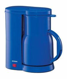 Severin KA 9244 Kaffeeautomat, blau / bis 8 Tassen / 800 W