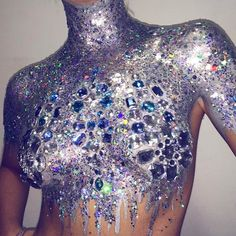 "Everyone's favorite body art Instagram is raising the stakes once again. You may remember The Gypsy Shrine for their ""glitter butts"" trend, well they've perked up for another amazing trend. What do you get when you take something I already can't stop staring at and add glitter to it? Yeah, you st"