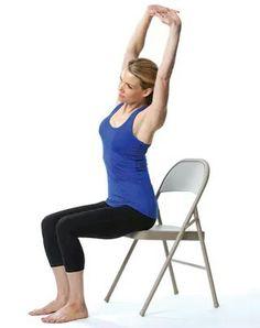 parivrtta trikonasana  yoga  pinterest  stuhlyoga yoga