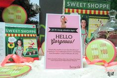 November 2014 BDJ Box: Sweet Shoppe | Unboxing & First Impressions | Jean's List Hello Gorgeous, Subscription Boxes, November, Presents, Frame, Sweet, November Born, Gifts, Picture Frame