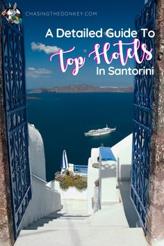 Greece Travel Blog: Here is a detailed list of where to stay in Santorini, Greece. We list the best hotels in Santorini for you, sorted by region, along with things to do in each area for your Greece travel planning. We've covered all the bases from luxurious 5-star all the way down to the more budget-friendly apartments and hostels. #Greece #GreeceTravel #Santorini #SantoriniTravel Santorini Accommodation, Best Hotels In Santorini, Santorini Travel, Santorini Greece, Croatia Travel, Greece Travel, Beach Travel, Beach Trip, Honeymoon Destinations