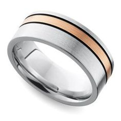 Jewelry & Watches Titanium 14k Yellow Inlay 10 Mm Polished Wedding Band Diversified Latest Designs Bridal & Wedding Party Jewelry
