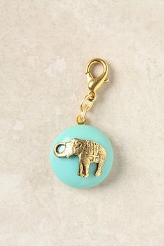The Collector's Charm, Elephant Cabochon #anthropologie