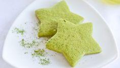 Matcha Green Tea Sugar Cookies - Salu Salo Recipes Source by Sugar Cookies Recipe, Cookie Recipes, Baking Cookies, Cookie Ideas, Sweets Recipes, Yummy Cookies, Green Tea Cookies, Matcha Cookies, Biscuits
